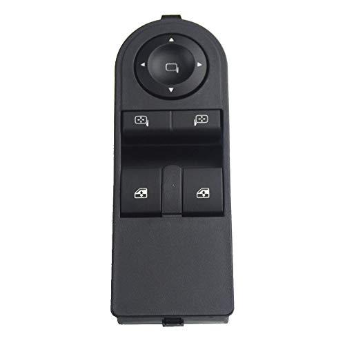 CROSYO Botón de Interruptor de Control de Ventana de 1 Piezas for Opel Astra H 2005-2010 for Opel Zafira B 2005-2015 13228706 13183679 13228879