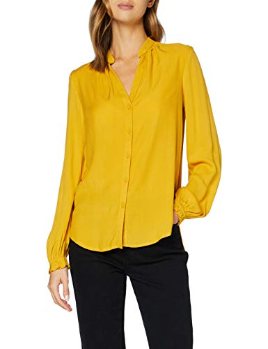 Q/S designed by - s.Oliver Damen 510.10.009.10.100.2043679 Bluse, golden Yellow, 36