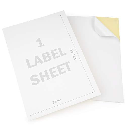 Matana 1000 Feuilles Étiquettes Autocollantes A4 - Imprimable