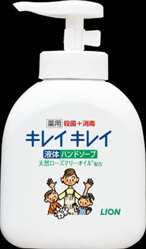 石鹸人差し指知るキレイキレイ 薬用液体ハンドソープ ポンプ250ml × 3個セット