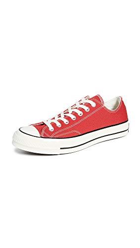 CONVERSE Chuck Taylor All Star Seasonal Ox, Unisex-Erwachsene Sneakers, Rot, 45 EU