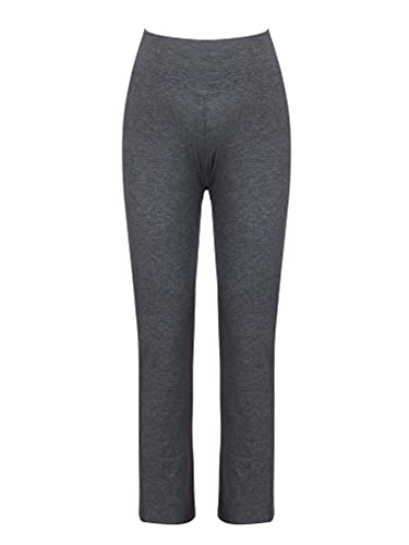 Choomomo Leggings de mujer levantamiento de glúteos Wrokout pantalones de maternidad yoga pantalones casuales, gris, S