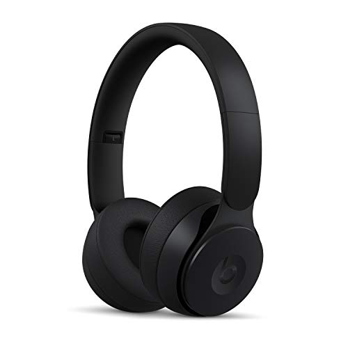 Beats Solo Pro Wireless Noise Cancelling On-Ear Headphones - Apple H1 Headphone Chip, Class 1 Bluetooth, 22 Hours of Listening Time, Built-in Microphone - Black