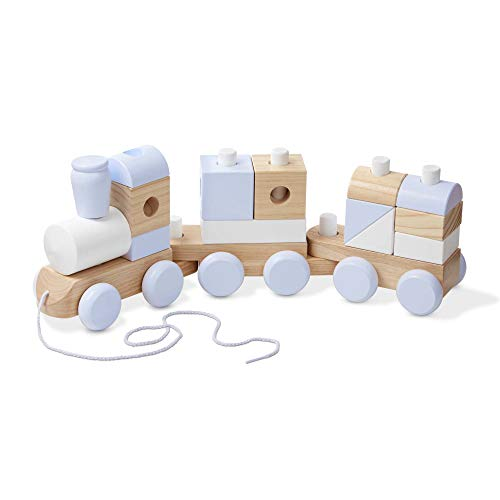 Save %5 Now! Melissa & Doug Jumbo Wooden Stacking Train - Natural