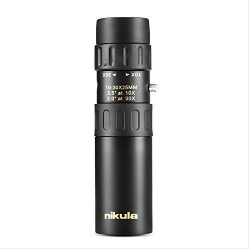 Original Fernglas Nikula 10-30x25 Zoom Monokular Hohe Qualität Telescope Pocket Binoculo Jagd Optische Prismne Scope Kein Stativ