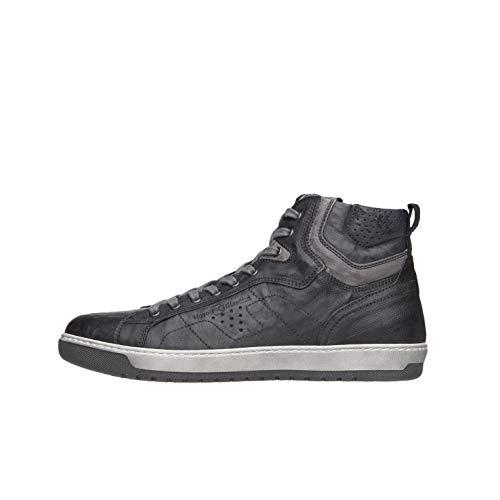 NeroGiardini A800490U Sneakers Alte Uomo in Pelle - Nero 40 EU