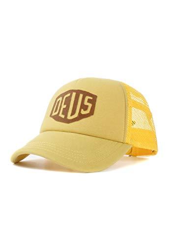 Deus - Gorra de béisbol - para hombre amarillo Talla única