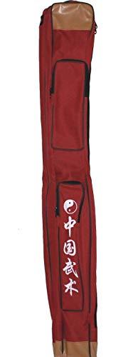 AAF Nommel ®, Doppelschwerttasche für Tai Chi Schwert, Bokken, Säbel 006