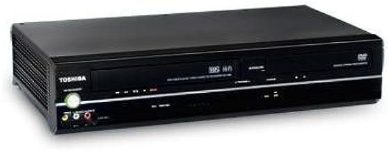 Toshiba SD-V296 DVD Player/VCR Combo, Progressive Scan Dolby Digital Remote Control, Black