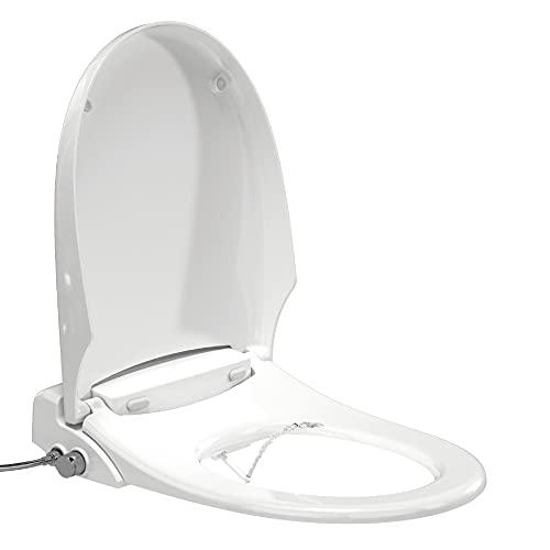 MerryLoo - Dusch WC Aufsatz - Toilettensitz mit Bidet Funktion - WC Dusche - nicht elektrisch - selbstreinigende Düse - inklusive Anschlussset - Made-in-Germany