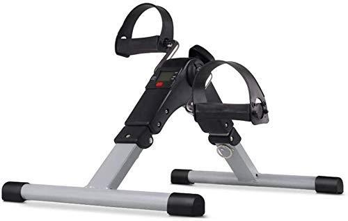 Macchina ellittica Cross Trainer Bike Pedale Ginnico Pieghevole Pedale Ginnico Regolabile Resistenza - Mini Cyclette Pedale Ginnico for Gamba e Braccio Rehab Work-out JIAJIAFUDR