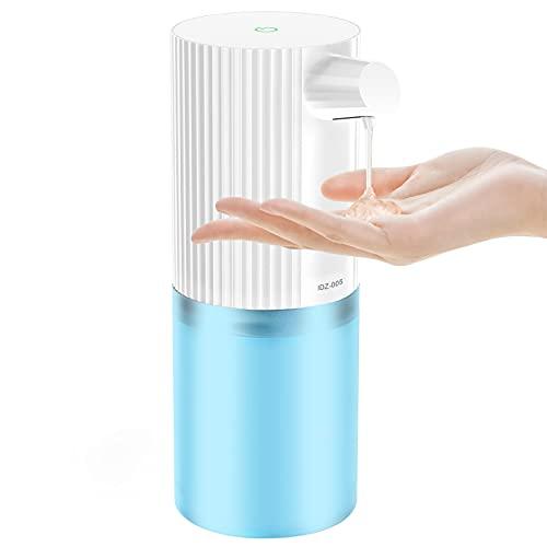 Elemore Home Distributore automatico di sapone, 400 ml Dispenser automatico di sapone senza contatto per le mani disinfettante Dispenser IPX6...