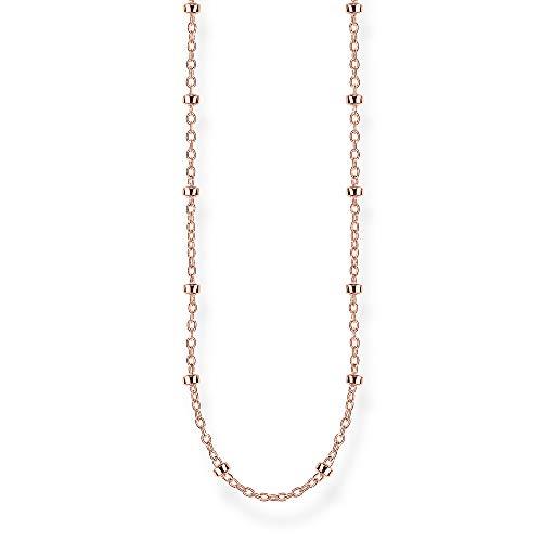 Thomas Sabo Unisex-Erbskette 925 Sterlingsilber roségold vergoldet KE1890-415-40-L60