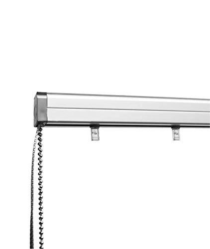 Madeco Schiene, für vertikale Lamellen, seitliche Öffnung