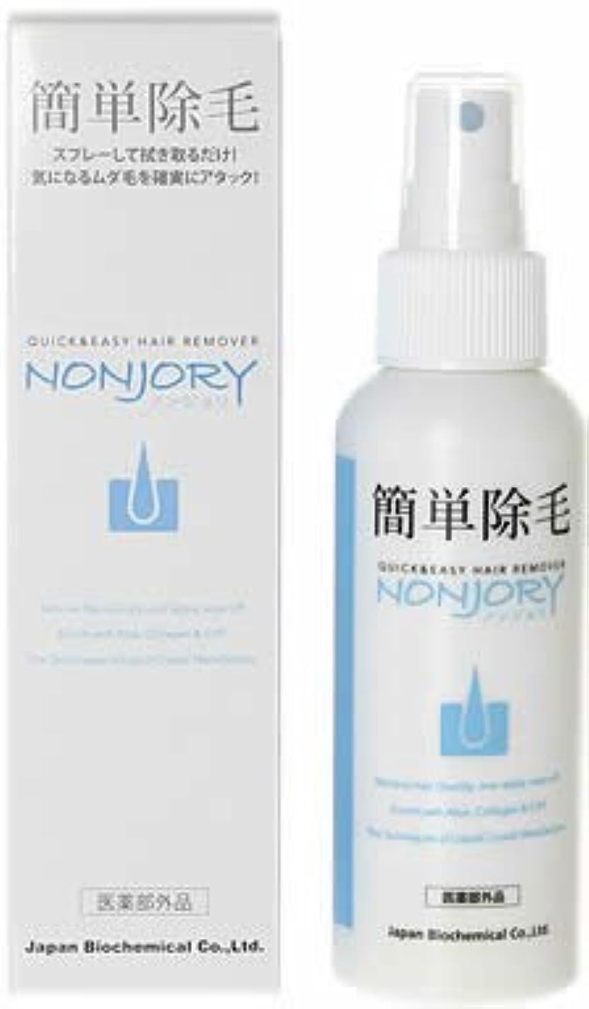 喪バルーンたくさんの薬用除毛剤 NONJORY(ノンジョリ) トリガータイプ 100g