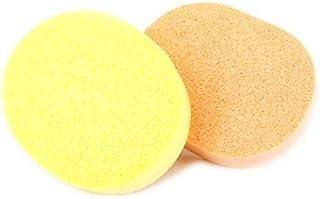 BeautyQua Set Of 2 Pcs Face Cleansing Sponge Puff Makeup Washing Pad Deep Cleansing & Facial Sponge