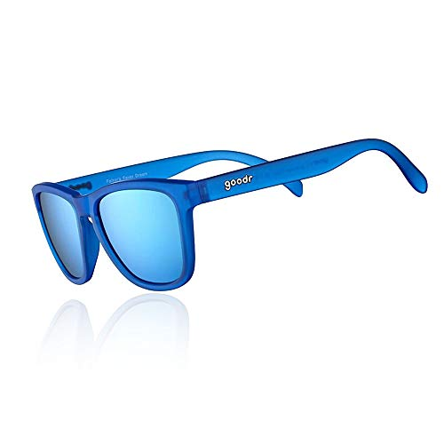 goodr RUNNING SUNGLASSES - (Blue w/Blue Lens)
