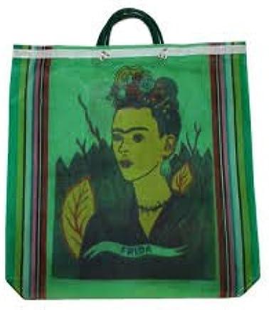 3fe44b80c109 Amazon.com : 7 Lot Tote Bag Frida Kahlo Recycled Mix Grocery Market ...