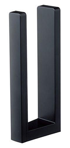 山崎実業 キッチンペーパーホルダー ストッパー付きマグネットキッチンペーパーホルダー タワー ブラック 3399 tower