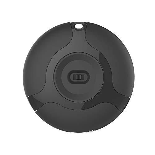 Yiyu Mückenschutz USB Wiederaufladbares Ultraschall-Insektenschutzmittel Tragbare Intelligente Frequenzumwandlung Im Freien Elektronisches Mückenschutzmittel x (Color : Black)