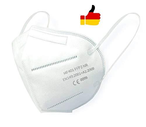 10x FFP2 Maske ce zertifiziert 5-lagige Staubmaske mund und nasenschutz von FEILIKANG masken mundschutz mit Ohrenschlaufe Einzehlverpackt CE Zertifiziert