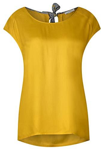 CECIL Damen 341573 Bluse, Gelb (ceylon yellow 11892), X-Large (Herstellergröße:XL)
