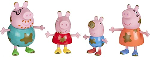 Peppa Pig Muddy Puddles Family 4-Figure Pack