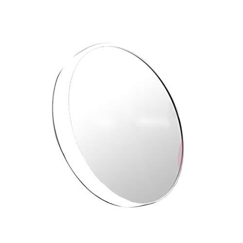 LIHY Miroir de Maquillage- Miroir de Maquillage de grossissement de 10x HD, loupe de beauté en Plastique d'ABS (Taille : 13cm)