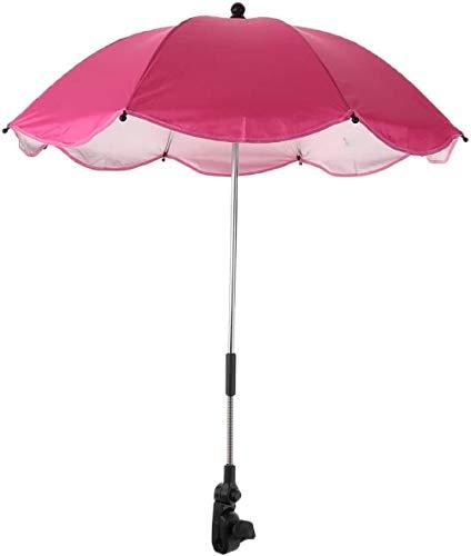 Zon en regen luifel paraplu voor strand camping wandelen, kinderwagen stoel Shelter, zon bescherming, roterende