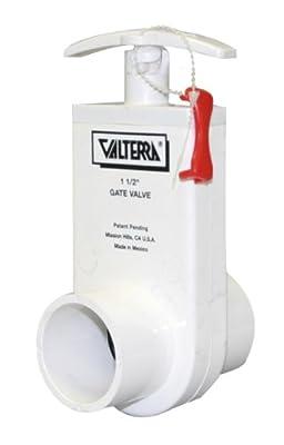 """Valterra 2103X PVC Unibody Gate Valve, Orange, 1-1/2"""" Spigot w/ Gate Keeper from Valterra Products"""