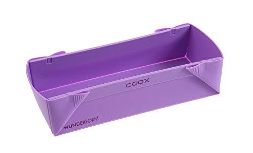 Wunderform Silikonbackform Coox L - 30 x 11 x 7 cm flieder