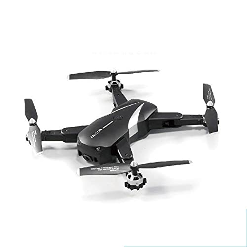 JJDSN 1080P Drone with Camera for Adults 1080P HD Live Video Camera Drone for Beginners w/Voice Control, with Gravity Sensor, Voice Control, Gesture Control, Altitude Hold Black 1080P