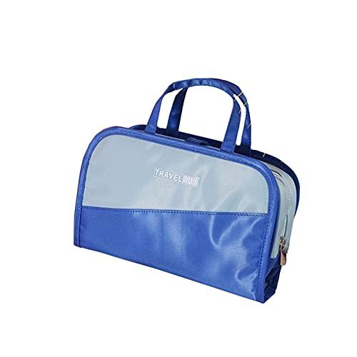 ABUKY Multifuncional 2 en 1 bolsa de cosméticos conveniente gran capacidad transparente bolsa de almacenamiento bolsa de lavado