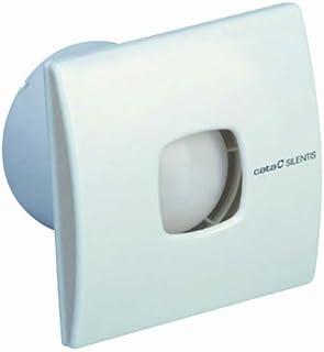CATA SILENTIS 10 Blanco - Ventilador (Blanco, Techo, Pared, De plástico,