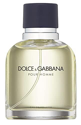 D&G Dolce & Gabbana Pour Homme Eau de Toilette Vapo, 75 Mililitros