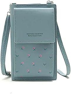 فورايفير ميموري حقيبة للنساء-ازرق سماوي - حقائب طويلة تمر بالجسم