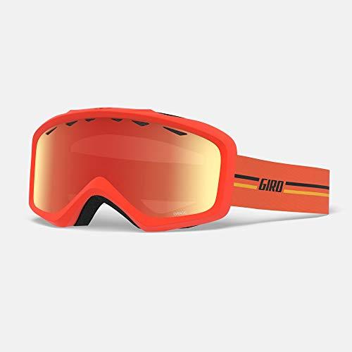 Giro Snow Masque de Ski Unisexe pour Enfant Orange ambré Taille Unique