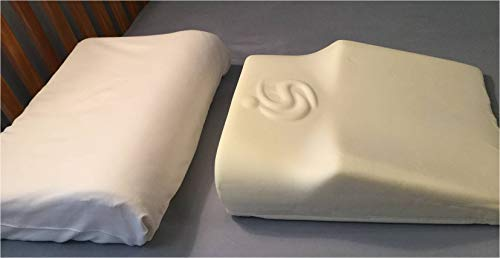 Better Sleep with Shoulder Pain Relief + Spinal Alignment! Cradling Sleeper, Great Gift!