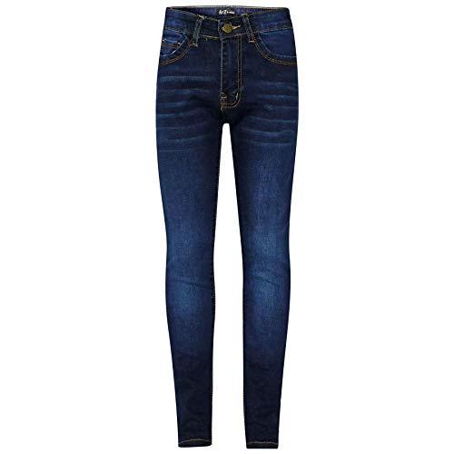 Kids Girls Skinny Jeans Designer Denim Stretchy Pants Fit Trouser New Age 5-13Yr