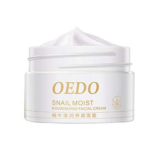 Aiming OEDO Caracol Crema hidratante Facial Las Arrugas Finas, Arrugas Finas acnes blanquea la Mancha de Aceite de Control Cuidado de la Piel