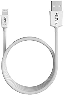 VIDVIE FAST CHARGING USB CABLE, CHARGER/SYNC FOR IPHONE