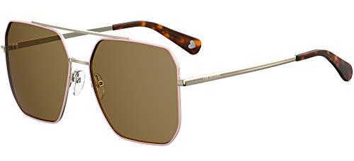 Love Moschino MOL010/S Gafas de sol, Marrón (Dk Havana), 59.0 para Mujer