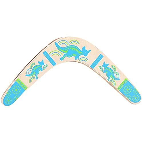 SaltshIII Flying Boomerang Boomerang Spinner Fliegendes Untertassen-Spielzeug Für Kinder Erwachsene Outdoor Flying Disc Throw Catch Toy 29.5×32.5cm/Gelb