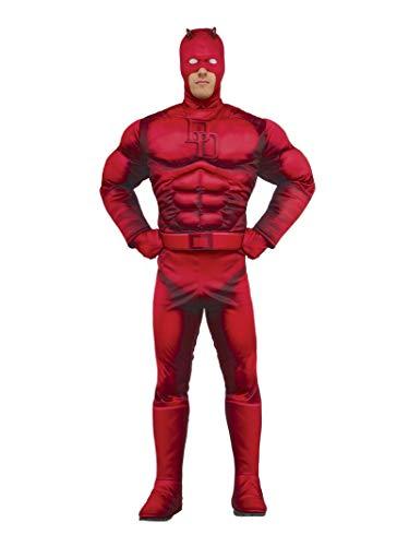 Rubie's Men's Marvel Daredevil Deluxe, As Shown, X-Large