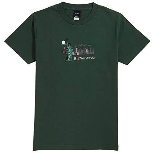 HUF Gift Shop T-Shirt Sycamore -  Braun -  Groß