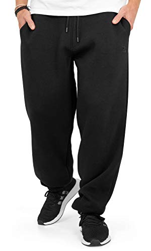 BACKSPIN Sportswear - Jogginghose Basic Farbe Schwarz, Größe XXL