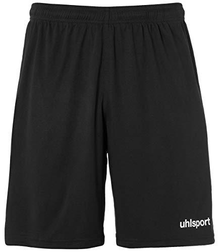 uhlsport Kinder Center Basic Shorts, schwarz, 164