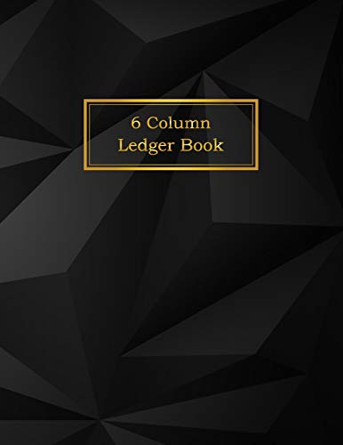 6 Column Ledger Book: Accounting Ledger Notebook | Business Financial Bookkeeping | Record Keeping Book | Home School Office Supplies (Business Notebook)
