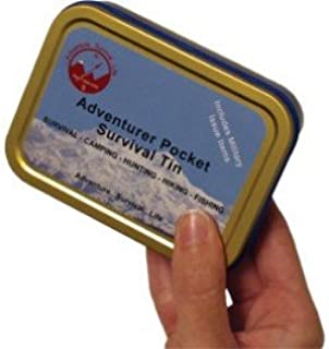 adventurer pocket survival tin