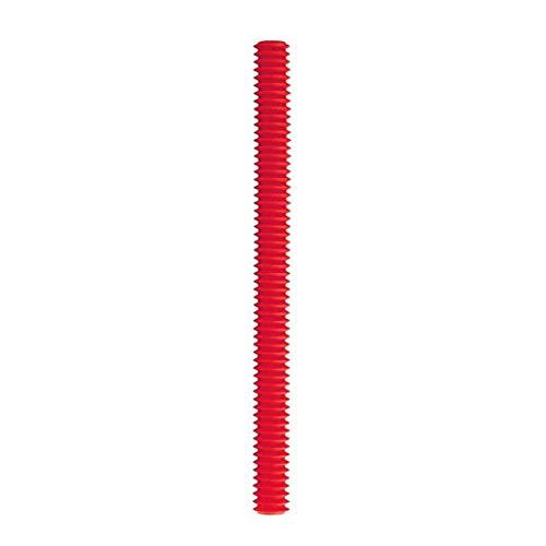 Luccase Silikon Ofenkantenschutz Klammern Wiederverwendbar Berührungsfreie Wärmebeständige Silikon Isolierhülse Backofenrosts Rand Schutz Streifen (Rot)